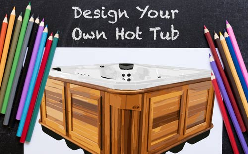 design your own hot tub